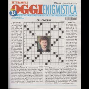 Settimanale Oggi Enigmistica - n. 39 - 29 settembre 2020 -
