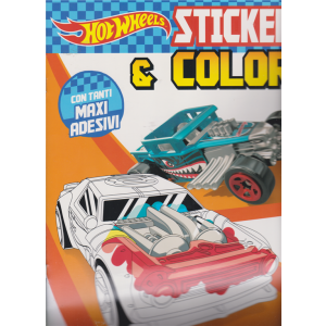 Sticker & Color - Hot Wheels - n. 33 - 5/9/2020 - bimestrale