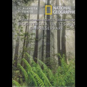 Il Pianeta Vivente - National Geographic - La straordinaria ricchezza della natura. Biodiversità, un tesoro da preservare - n. 48 - 22/9/2020 - settimanale - copertina rigida