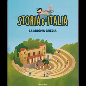 Storia d'Italia - n. 6 - La Magna Grecia - 22/9/2020 - settimanale - copertina rigida