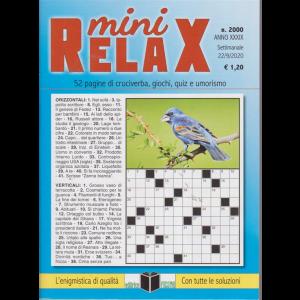 Mini Relax - n. 2000 - settimanale - 22/9/2020 -