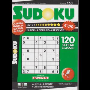 Sudoku - n. 163 - mensile - ottobre 2020