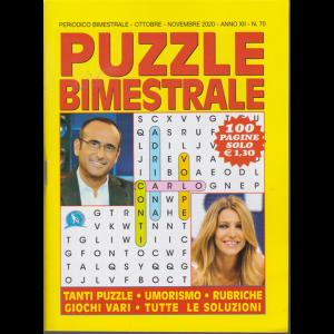 Puzzle  Bimestrale - n. 70 - bimestrale - ottobre - novembre 2020 - 100 pagine
