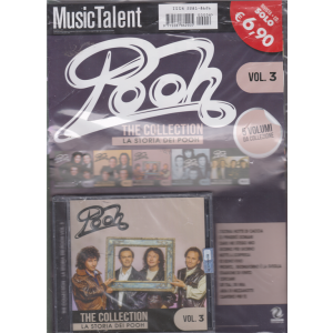 Music Talent Var.90 - Pooh - The collection - La storia dei Pooh - n. 3 - rivista + cd -