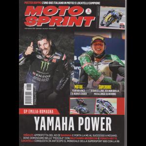 Motosprint - n. 38 - 22/28 settembre 2020 - settimanale
