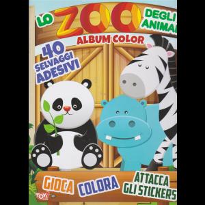 Toys2 Sticker Game -Album color -  Lo zoo degli animali - n. 41 - bimestrale -17 settembre 2020 -