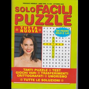 Solo Facili Puzzle - n. 203 - mensile - ottobre 2020 - 100 pagine