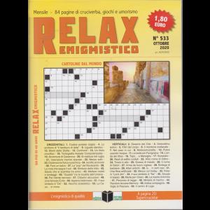 Relax - Enigmistico - n. 533 - ottobre 2020 - mensile