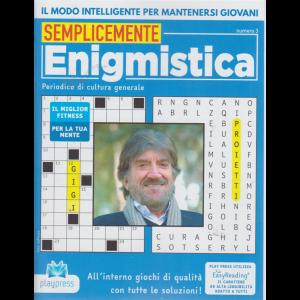 Semplicemente enigmistica - n. 3 -Gigi Proietti -  bimestrale - 19/9/2020 -