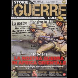 Storie di guerre e guerrieri - n. 33 - bimestrale - ottobre - novembre 2020 -