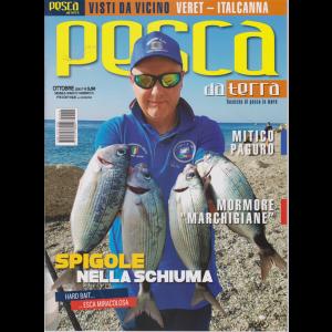 Pesca da terra - n. 10 - ottobre 2020 - mensile
