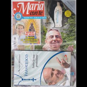 Maria con te - + il libro  Il rosario meditato - Francesco - Sotto la tua protezione - n. 39 - 27 settembre 2020 - settimanale - rivista + libro