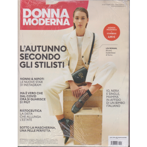Donna Moderna + Starbene - n. 41 - 24 settembre 2020 - settimanale - 2 riviste