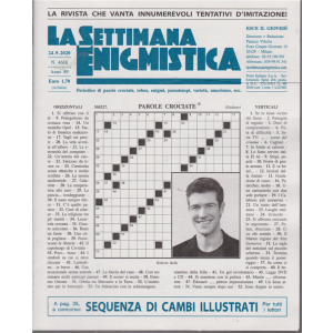 La Settimana Enigmistica - n. 4618 - settimanale - 24/9/2020
