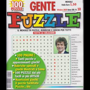 Gente Puzzle - n. 10 - mensile - ottobre 2020 - 100 puzzle - 100 pagine!