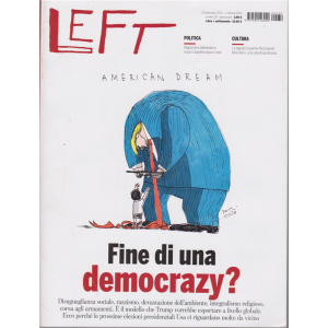 Left Avvenimenti - n. 39 - 25 settembre 2020 - 1 ottobre 2020 - settimanale