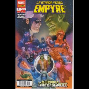 Marvel Miniserie - La strada verso Empyre - La guerra kree /skrull - n. 235 - quindicinale - 24 settembre 2020