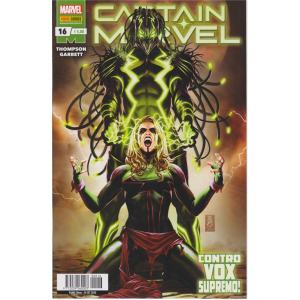 Captain Marvel - Contro vox supremo! - n. 16 - mensile - 24 settembre 2020