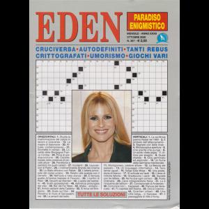 Eden -Paradiso enigmistico -  n. 367 - mensile - ottobre 2020