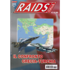 Raids - Italia - n. 396 -Il confronto Grecia - Turchia -  settembre 2020 - mensile