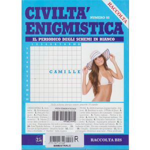 Raccolta Civiltà enigmistica - n. 85 - bimestrale - aprile 2018