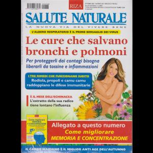 Salute Naturale + Come migliorare memoria e concentrazione - n. 258 - ottobre 2020 . mensile - 2 riviste