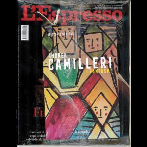 L'espresso - settimanale n. 40 del 27/9/20 + Le storie di Vigàta vol. 18