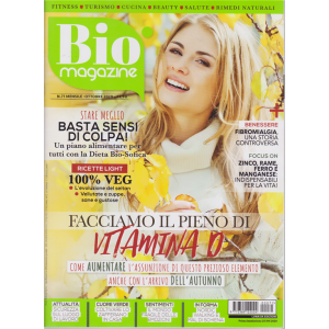 Bio Magazine - n. 71 - mensile - ottobre 2020