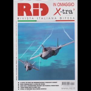 Rid -+ in omaggio  Allegato X-Tra - n. 10 - mensile - ottobre 2020