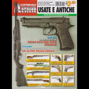 La Vetrina delle armi usate e antiche - n. 185 - ottobre 2020 - mensile