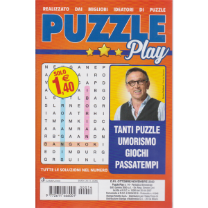 Puzzle Play - n. 14 - ottobre - novembre 2020 - bimestrale -