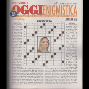 Settimanale Oggi Enigmistica - n. 40 - 6 ottobre 2020