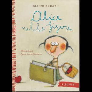 Albumini - Alice nelle figure - di Gianni Rodari - n. 33 - settimanale - copertina rigida