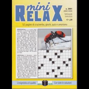 Mini Relax - n. 2001 - settimanale - 29/9/2020 -