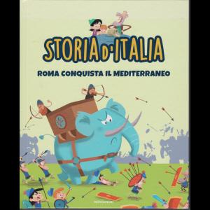 Storia d'Italia - Roma conquista il Mediterraneo - n. 7 - settimanale - 29/9/2020 - copertina rigida