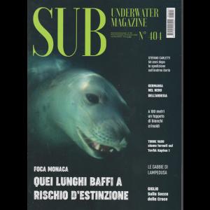 Sub - Underwater magazine - n. 404 - bimestrale - 20 settembre 2020