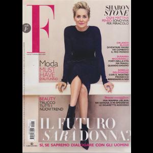 F  - Sharon Stone - n. 40 - settimanale - 30/9/2020