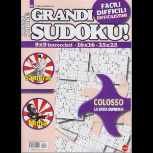 Grandi Sudoku - n. 61 - ottobre - novembre 2020 - bimestrale