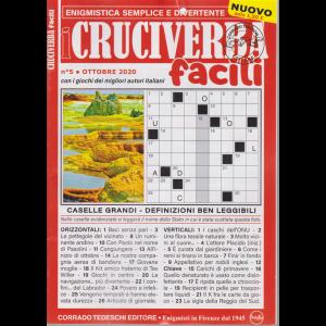 I Cruciverba Facili - n. 5 - ottobre 2020 - mensile