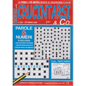 Crucintarsi & Co. - n. 261 - ottobre 2020 - mensile