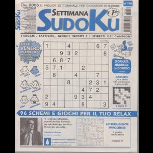 Settimana Sudoku - n. 790 - settimanale - 2 ottobre 2020 -