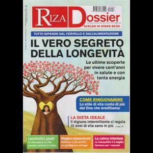 Riza Dossier - Il vero segreto della longevità - n. 26 - bimestrale - ottobre - novembre 2020