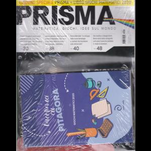Prisma  - n. 23 - ottobre 2020 - mensile + Libro giochi matematici 2020  - Divertiamoci con Pitagora - rivista + libro