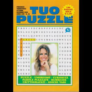 Tuo Puzzle - n. 42 - Paola Perego - trimestrale - ottobre - dicembre 2020 - 196 pagine