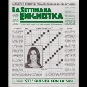 La Settimana Enigmistica - n. 4619 - 1/10/2020 - settimanale