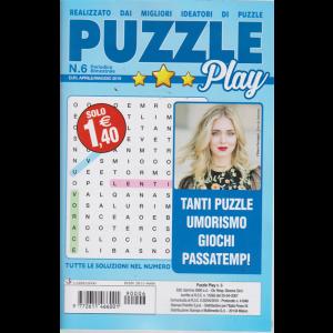 Puzzle Play - N. 6 - Bimestrale - aprile - maggio 2019 -