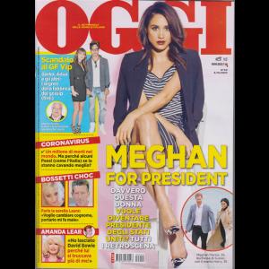 Oggi - Meghan For President - n. 40 - 8/10/2020 - settimanale