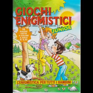 Giochi Enigmistici junior - n. 71 - bimestrale - maggio - giugno 2019 - 52 pagine tutte a colori