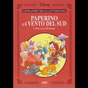 Capolavori della letteratura - Paperino e il vento del sud e Piccole papere - n. 30 - 3/10/2020 - settimanale