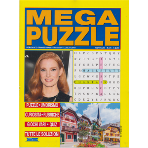 Mega Puzzle - n. 81 - trimestrale - maggio - luglio 2019 -